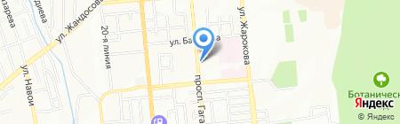 Sadaf Travel на карте Алматы