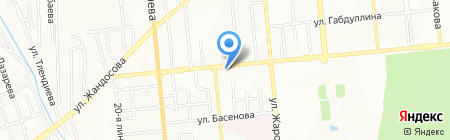 Sky Nails на карте Алматы