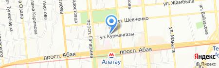 ИгРо на карте Алматы