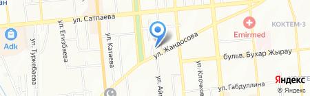 Skymax Technologies ТОО на карте Алматы
