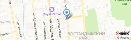 Алматинский городской центр формирования здорового образа жизни на карте Алматы