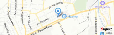 Абильхайыр на карте Алматы