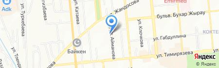 Positiv consider на карте Алматы