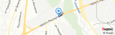 Ивит на карте Алматы