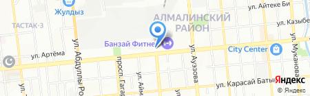 Банкомат Евразийский банк на карте Алматы