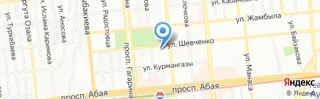 Гульнара на карте Алматы