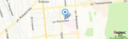 CRS на карте Алматы