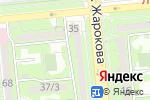 Схема проезда до компании V professional courses в Алматы