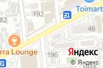 Схема проезда до компании Simitci в Алматы