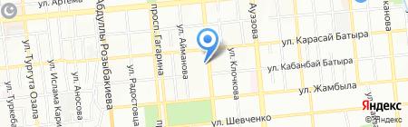 Дарина на карте Алматы