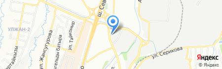 Пункт замены масла на ул. Бокейханова на карте Алматы