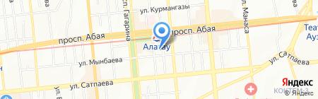 Arabella на карте Алматы
