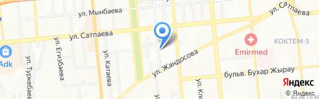 Апельсин на карте Алматы