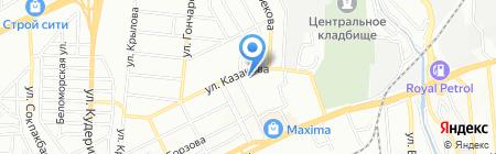Общеобразовательная школа №66 на карте Алматы