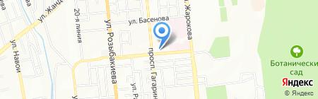 Алматинский государственный институт усовершенствования врачей на карте Алматы