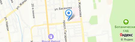 КазМУНО на карте Алматы