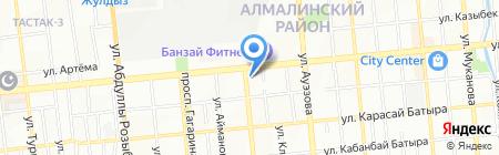 Sham Travel на карте Алматы
