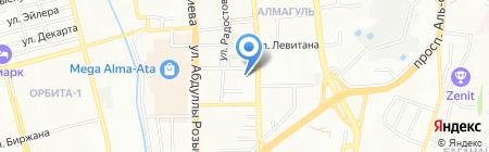 Общеобразовательная школа №146 на карте Алматы