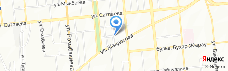 A & F EDUCATION на карте Алматы