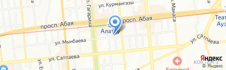 Lotus на карте Алматы