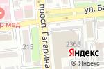 Схема проезда до компании ASIA potolki в Алматы