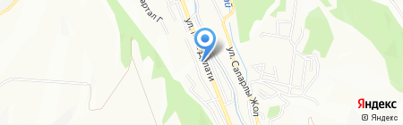 Каусар Булак на карте Алматы