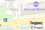 Схема проезда до компании NAYADA в Алматы