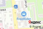 Схема проезда до компании Manga Sushi в Алматы