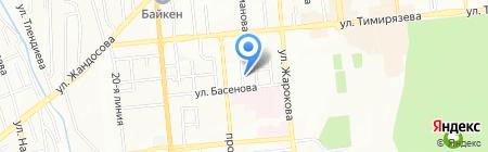 Русский Проект Алматы на карте Алматы