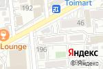 Схема проезда до компании Бо4ка в Алматы