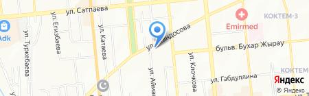 ELEGANCE на карте Алматы