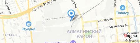 Тас-Тан на карте Алматы