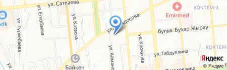 Astcom на карте Алматы