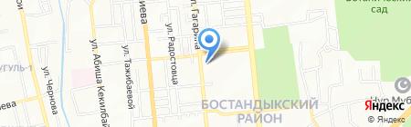 Мын Жол-2030 на карте Алматы