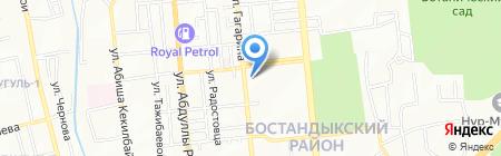 Концепт на карте Алматы