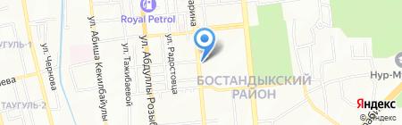 Elite Wood на карте Алматы