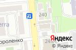 Схема проезда до компании Ташкент в Алматы