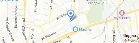 Акылды Балакай на карте Алматы
