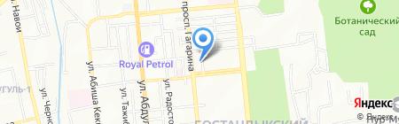 Freerider на карте Алматы