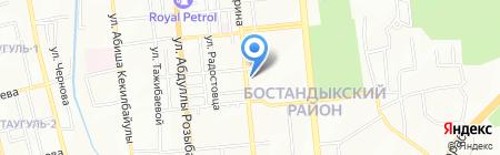 Магнит продовольственный магазин на карте Алматы
