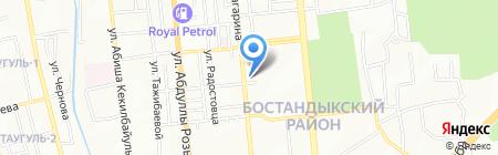 Azat Media Holding на карте Алматы