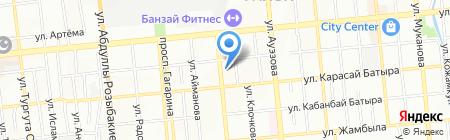 Рамин на карте Алматы