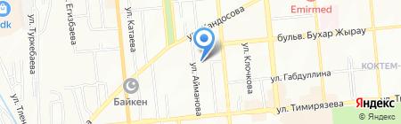 Санжар ТОО на карте Алматы