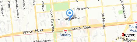 Phaeton Tour на карте Алматы