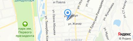 Средняя школа №76 на карте Алатау