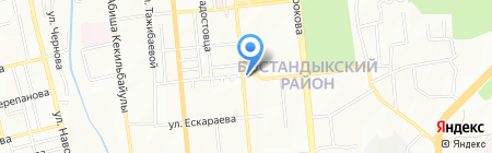 Центр шин на проспекте Гагарина на карте Алматы