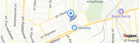 NG-studio на карте Алматы