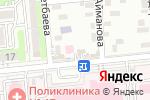Схема проезда до компании Sofia в Алматы