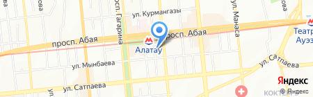 Ginger Pizza на карте Алматы