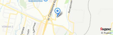 Красотка на карте Алматы